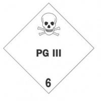 """PG 6"" - D.O.T. Label"