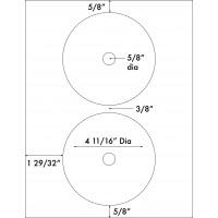 "Up to 4 11/16"" Diameter"