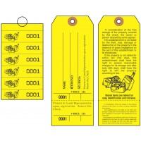 Bag Identification Tags, Manifold Construction