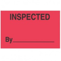 """""""INSPECTED BY"""""""