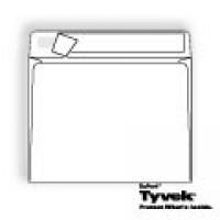 Tyvek Open Side Booklet with Kwik-Tak