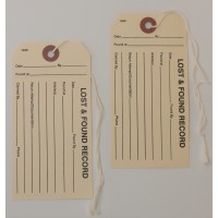Lost and Found Property Tags