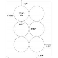 "2 7/8"" Diameter"