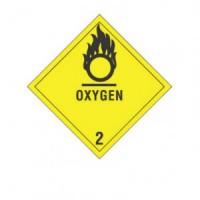 """""""OXYGEN 2"""" - D.O.T. Label"""