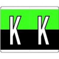 KARDEX® PSF-139 Series Comp. Alpha Tabs-Roll