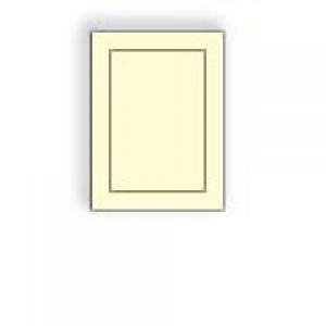 Creme Prism Baronial Panel Card