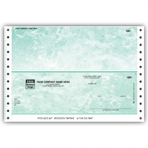 CB103, Marble Continuous Multipurpose Check