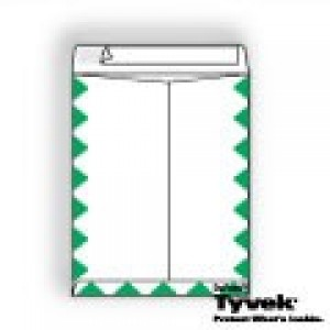Tyvek Open End Catalog with First Class Border and Kwik-Tak