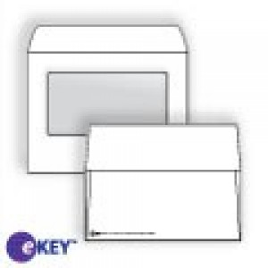 eKEY Multimedia Mailer with Window with CD/DVD Insert - -