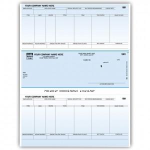 LM341C, Classic Laser/Inkjet Payroll Check