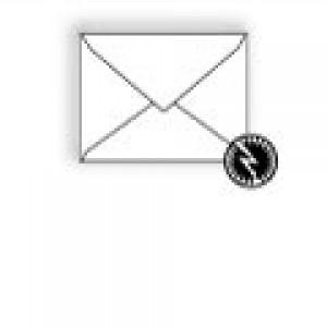 Ultra-White Baronial Envelope