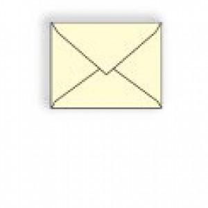 Creme Prism Baronial Envelope