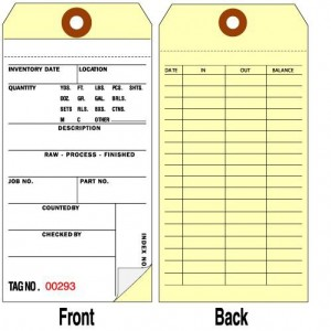 TG15100 Series Inventory Tags
