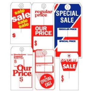 Retail Sale Tags - Medium