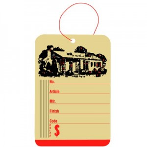 Furniture Tags - Ivory Price