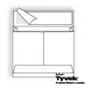 Tyvek Expansion Open Side Booklet with Kwik-Tak