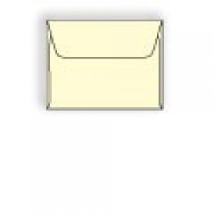 A-7 Creme Prism Machine Insertable Announcement Envelope