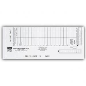 200034P, Deposit Tickets Loose
