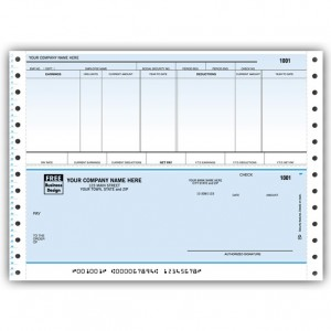 CB321C, Classic Continuous Payroll Check