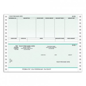 CB212C, Classic Continuous Accounts Payable Check