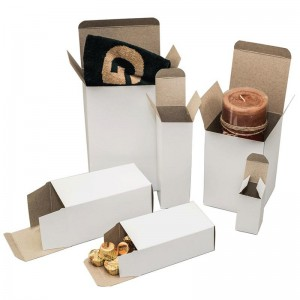 White Reverse Tuck Cartons