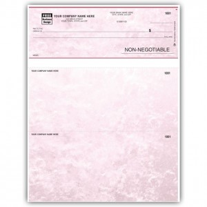 LT600, Laser/Inkjet Advice of Deposit Form