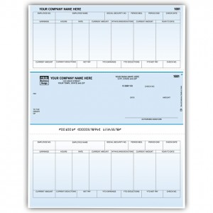LM330C, Classic Laser/Inkjet Payroll Check