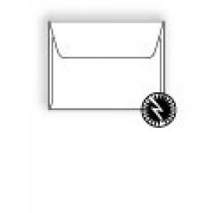Ultra-White Machine Insertable Announcement Envelope