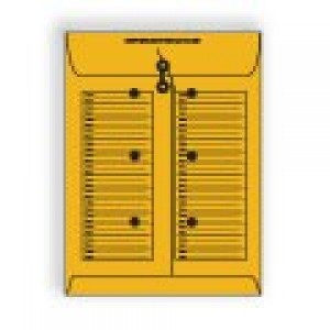 Roptex Open End Interdepartmental Catalog with String & Button Fastener