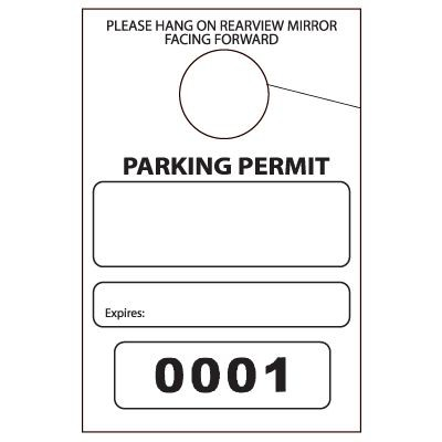 Parking Permits - Parking Stickers & Parking Tags